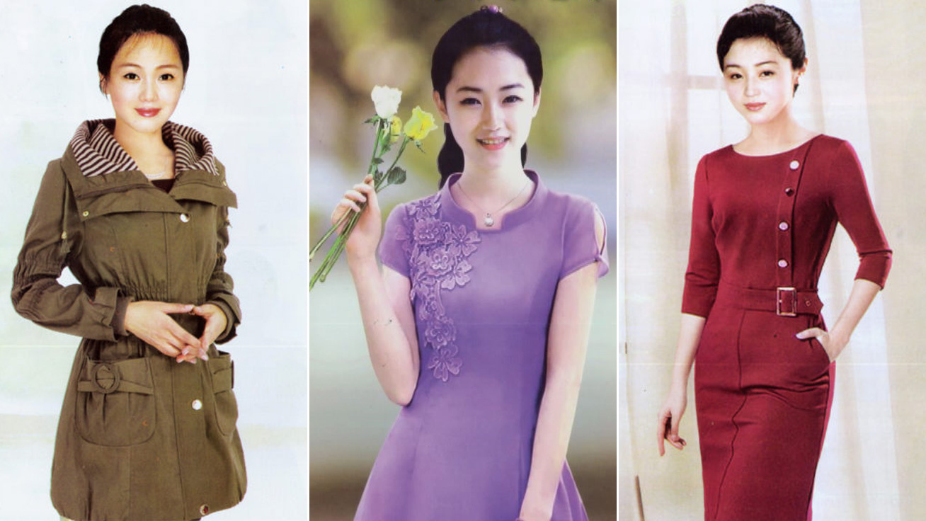 eszak koreai divatmagazin cover