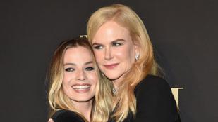 Margot Robbie és Nicole Kidman legjobb barátnők lettek