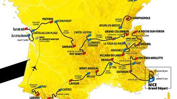 Durván kezdődik, és a végéig olyan is marad a Tour de France