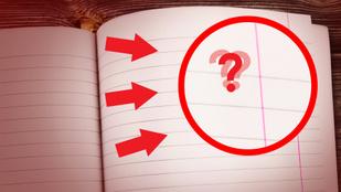 Miért van margó a jegyzetfüzetek szélén?