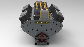 Villanymotor a V8-as helyére?