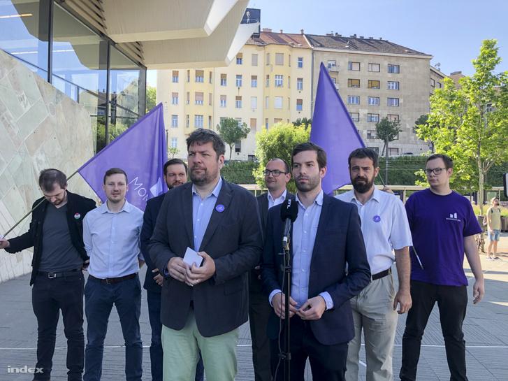 Kerpel-Fronius Gábor, Fekete-Győr András és a momentum mozgalom további tagjai
