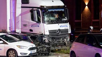 Mégsem terrorcselekmény lehetett a limburgi teherautós ütközés
