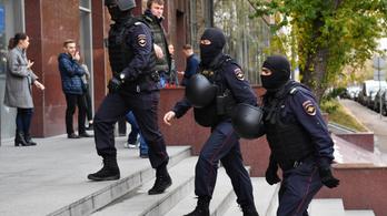 Harminc orosz régióban házkutatást tartottak Alekszej Navalnij alapítványának irodáiban