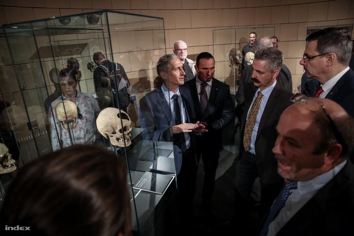 Bernert Zsolt, a Magyar Természettudomány Múzeum főigazgatója