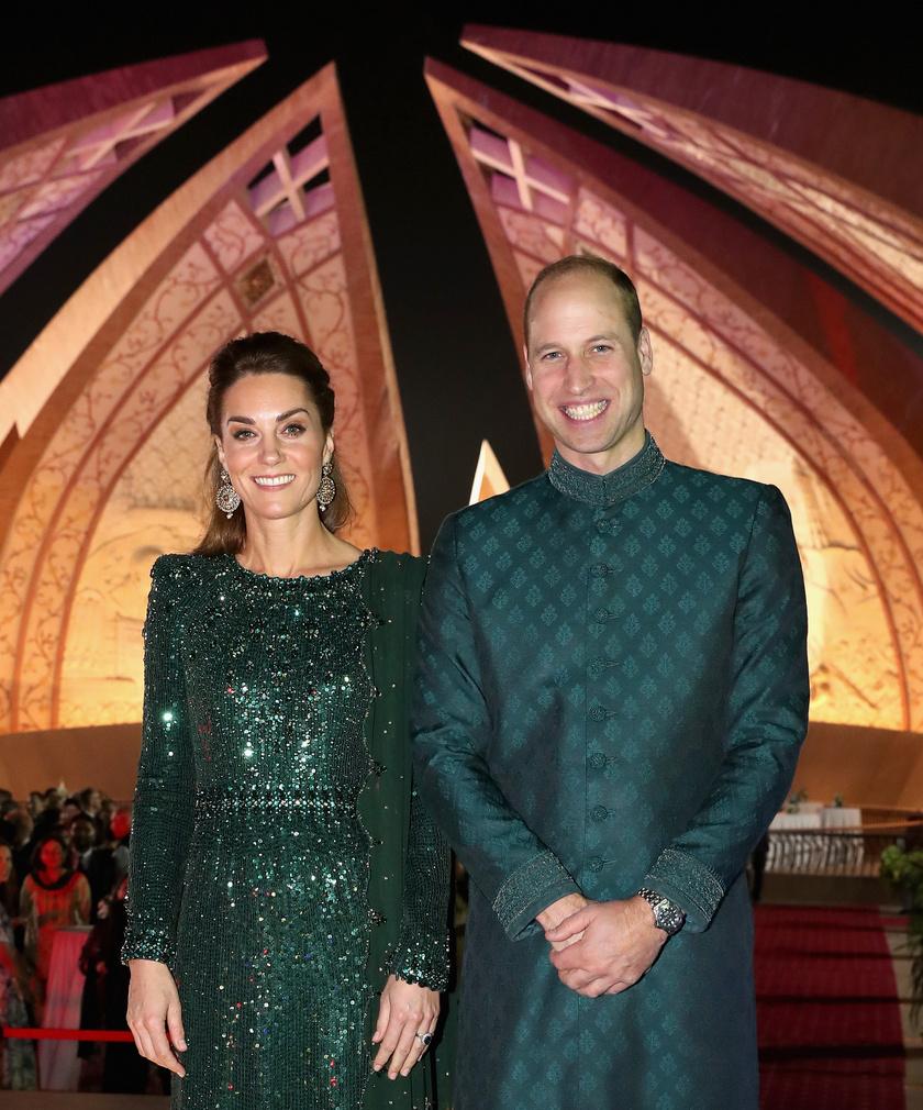 A hercegi pár brillírozik a turnén - ezúttal is fantasztikusan néztek ki mindketten.