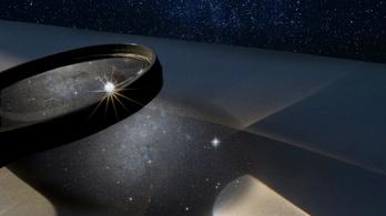 Galaxishalmazt használtak röntgensugaras nagyítólencseként