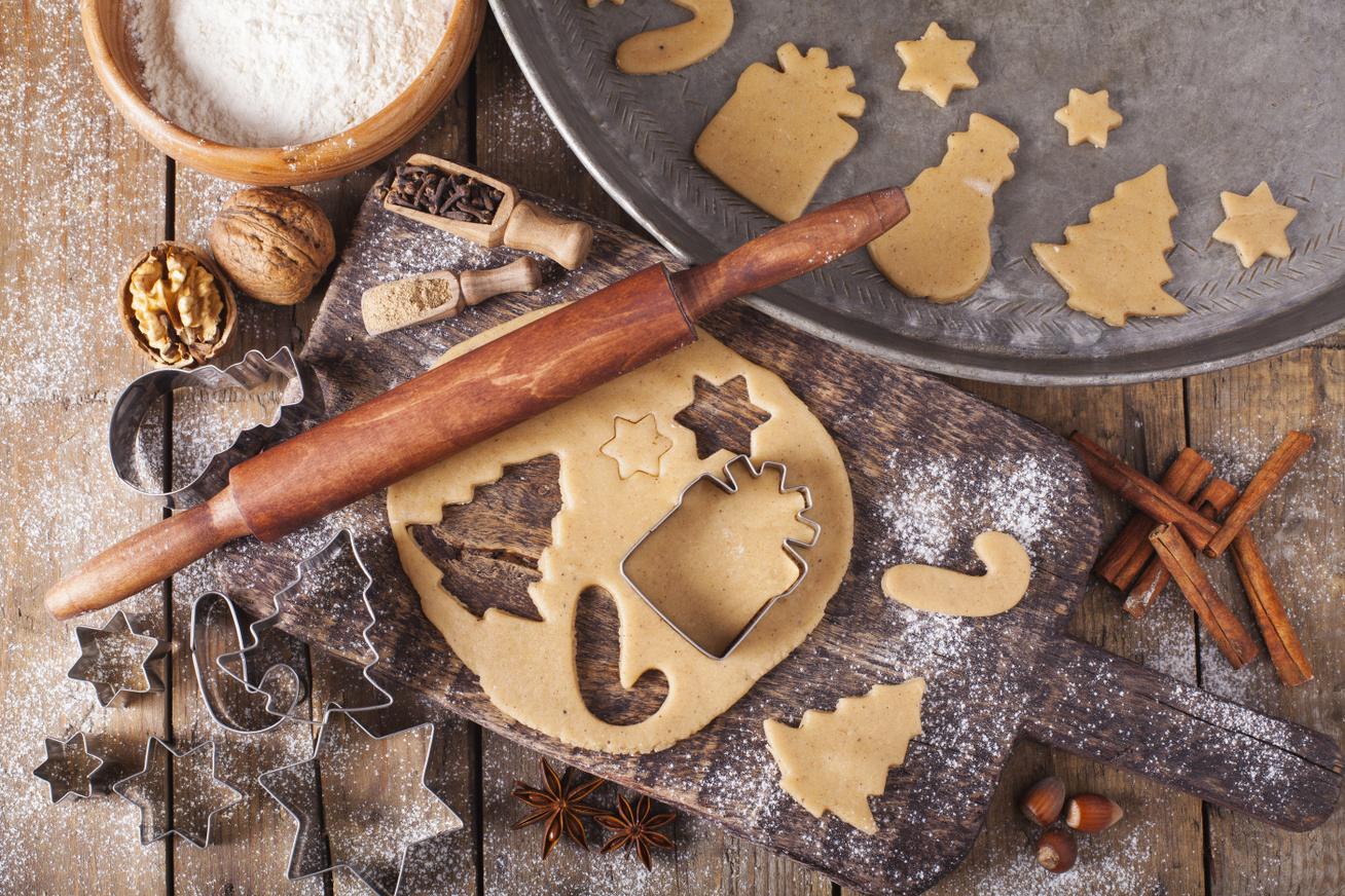 karácsonyi sütik gyömbérrel