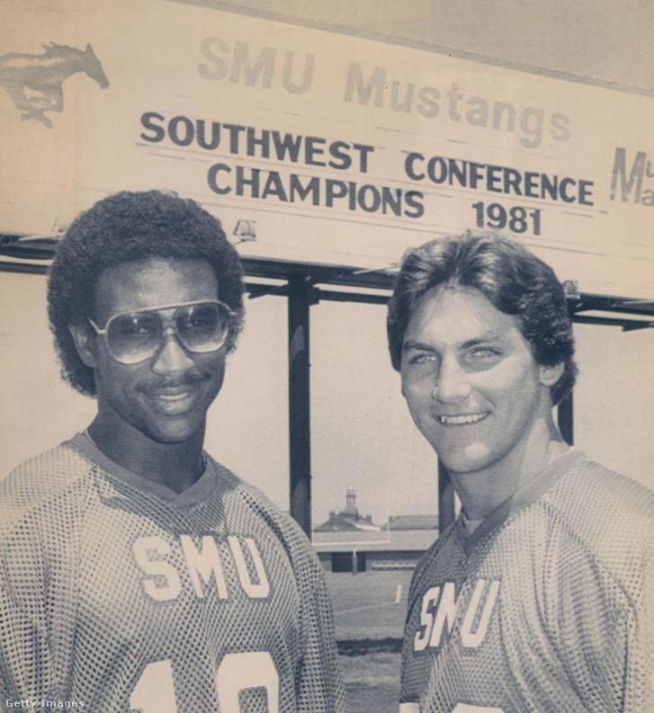 Eric Dickerson és Craig James 1982-ben