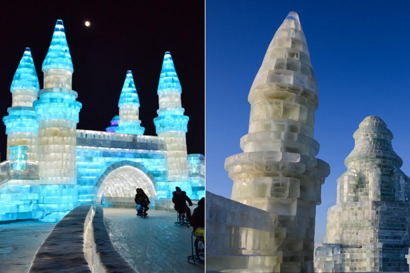 Kínában rendezik a Nemzeti Jég-, és Hószobrász Fesztivál. Ilyenkor Harbin városában a világ legnagyobb jégszobrait építik meg, lényegében egy jégvárosban lehet sétálgatni. December 24-étől február végéig tart.