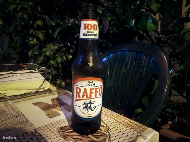 A Raffo a város söre, de már évtizedek óta Rómában gyártják