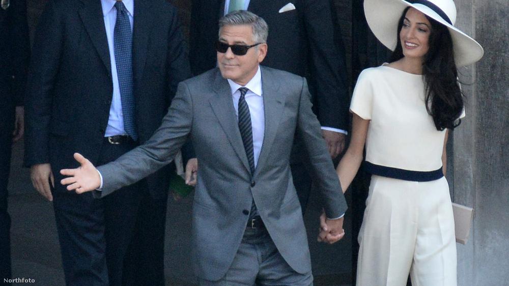 Az év legrangosabb celebesküvője George Clooney és Amal Alamuddin házasságkötése volt, amit Velencében tartottak szeptember 27-én.