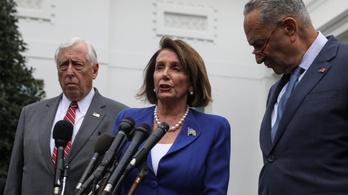 Donald Trump beteg embernek és harmadrangú politikusnak nevezte Nancy Pelosit