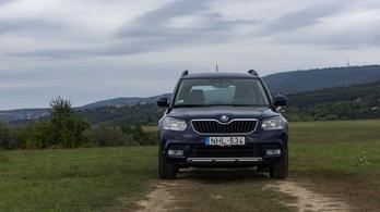 Használtteszt: Škoda Yeti 2.0 TDI, Ambition - 2015.