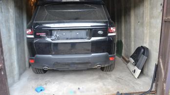 Óriási lopott autós fogás a rendőrségnél