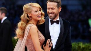 Ryan Reynoldsék harmadik babája is kislány lett