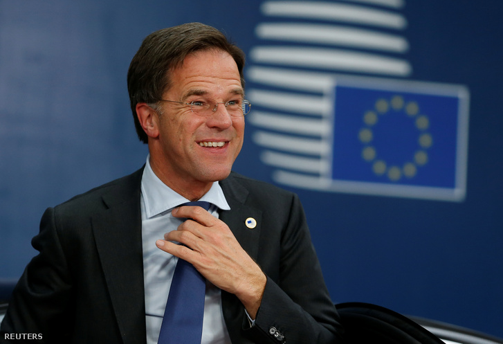 Mark Rutte 2019. október 17-én.