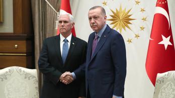 Tűzszünetről állapodott meg Erdoğan és Pence