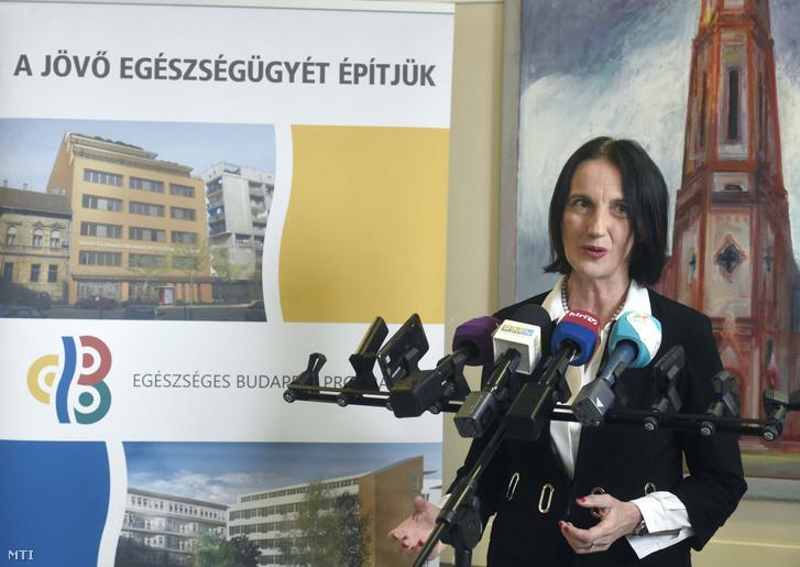 Horváth Ildikó az Emberi Erőforrások Minisztériumának egészségügyért felelős államtitkára