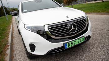 Teszt: Mercedes EQC 400 4matic - 2019.