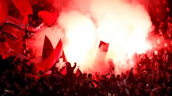 Az UEFA gyorsan kiszórt 200000 euró büntetést