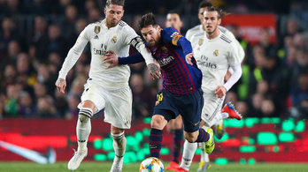 Nem lesz Barcelona-Real Madrid a jövő hétvégén