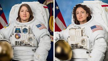 Pénteken tartják a világ első kizárólag női űrsétáját