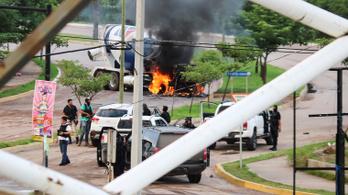 Elszabadult a pokol egy mexikói városban, ahol őrizetbe akarták venni a Köpcös fiát