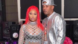Nicki Minaj magát és párját fotózta, a fotósok a fenekét