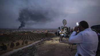 Fél napig tartott a tűzszünet: kórházat ágyúznak a törökök Szíriában