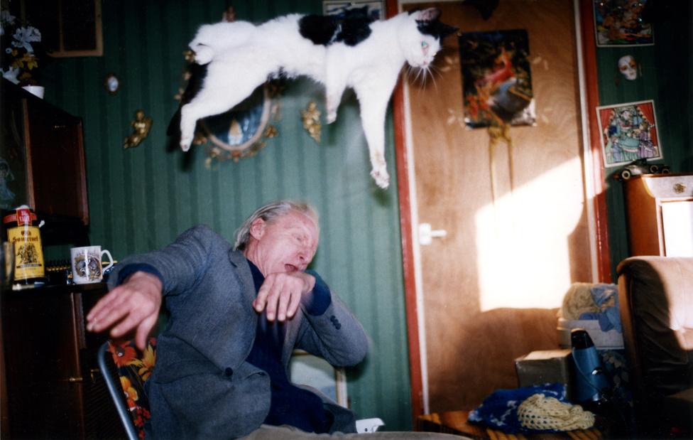 Richard Billingham Cím nélkül 1996.                          Az Anthony Reynolds Gallery, London jóvoltából