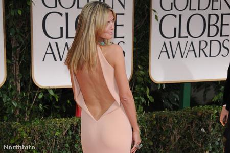 Heidi Klum - Golden Globe gála - 2012