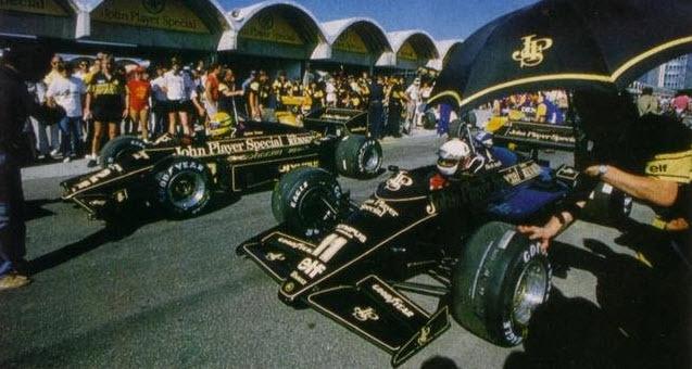 Senna és De Angelis