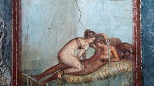 Az ókori szexmunkáról mesél a pompeji luxusbordély