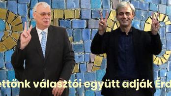 Érd új polgármestere elásná a csatabárdot a helyi fideszes országgyűlési képviselővel