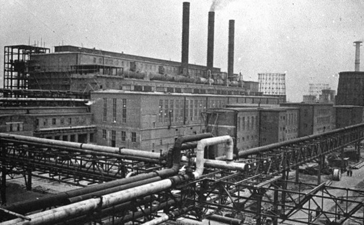 Az IG Farben egyik üzeme 1941-ben