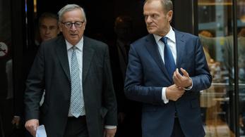 Juncker: Néhány tagállam történelmi hibát vétett