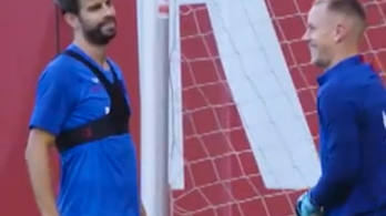 Megsemmisítették a Barca-védő Piquét
