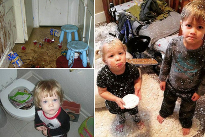 Gyanús lett a csend, megnézte az anya, mit csinál a gyerek: hihetetlen kupi lett 5 perc alatt