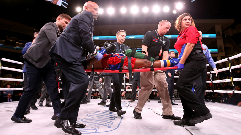 A halál a boksszal együtt vállalt kockázat