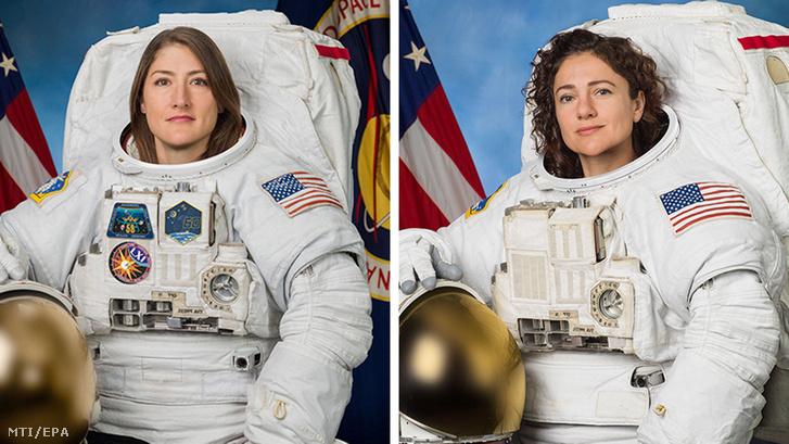 Christina Koch és Jessica Meir