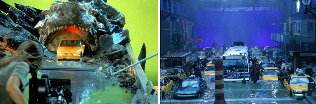 A Godzilla és a Holnapután c. filmek werkfotói