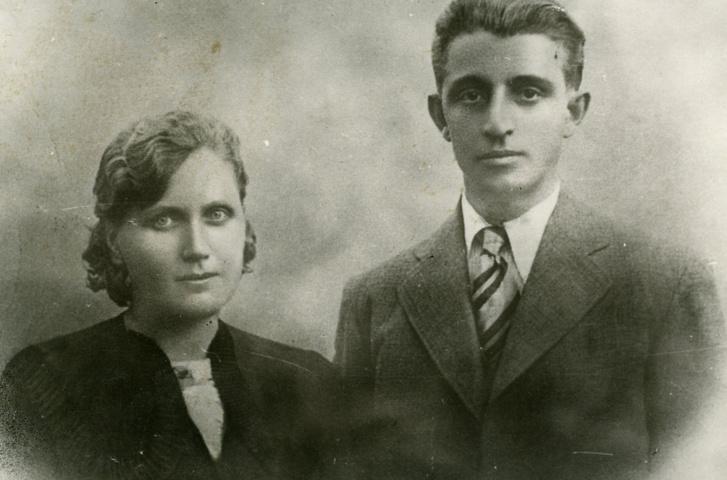 Kabay János és felesége, Kelp Ilona