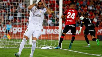 Váratlan helyen futott bele a Real idei első bajnoki vereségébe