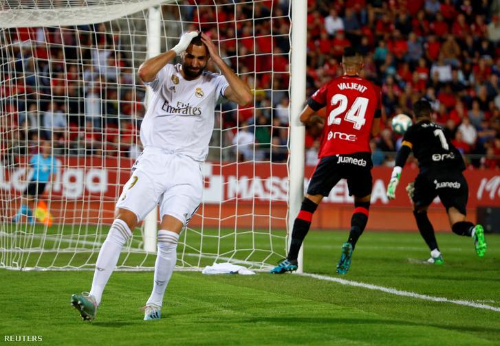 Karim Benzema nem örül