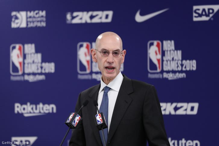 Az NBA vezére, Adam Silver