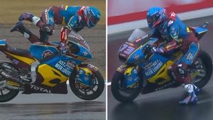 Hihetetlen mentést mutatott be a hatszoros MotoGP-bajnok öccse