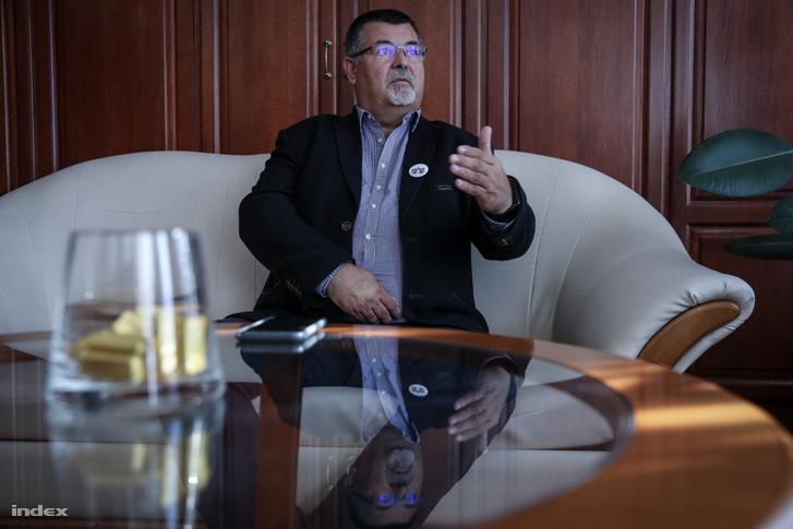 Nyiri Tibor, megválasztott polgármester