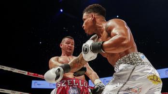 Nincs bravúr, TKO-val ment el a magyar WBA-öv esélye
