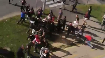 Komolyabb összecsapás volt a ZTE és a Honvéd szurkolói között